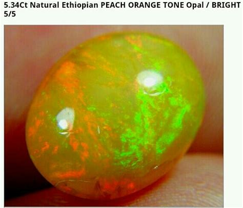 Batu Akik Opal Orange permata opal permata opal orange
