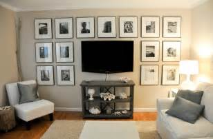 tv display ideas 50 cool ideas to display family photos on your walls architecture design