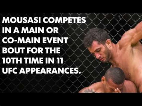 fighting facts pre fight facts for vs mousasi 2 mma reader tv