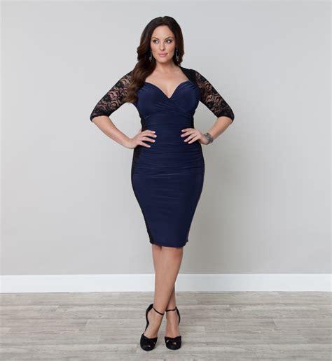 plus size cocktail dress navy plus size dresses