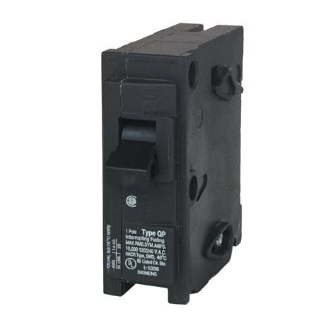 Search Breaker Shop Siemens Qp 15 1 Pole Circuit Breaker At Lowes