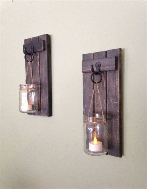 Wood Wall Sconce The 25 Best Ideas About Candle Wall Sconces On