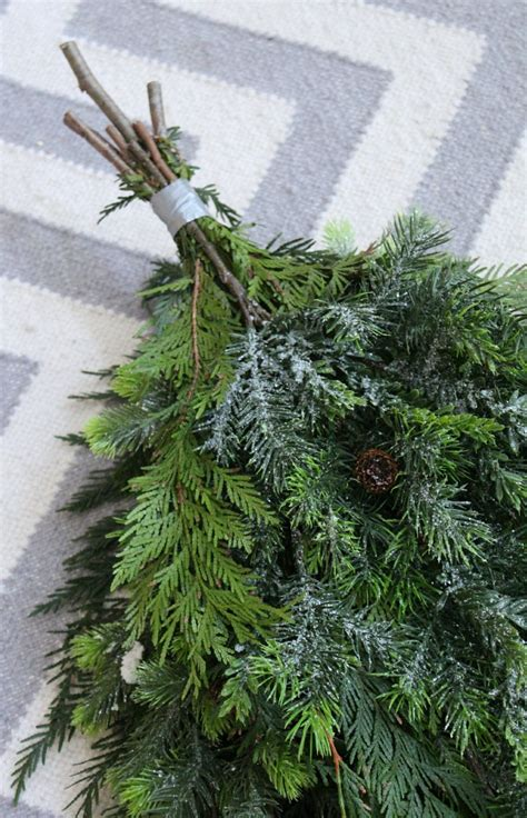 how to make xmas cedar swags diy swag wreath clean and scentsible