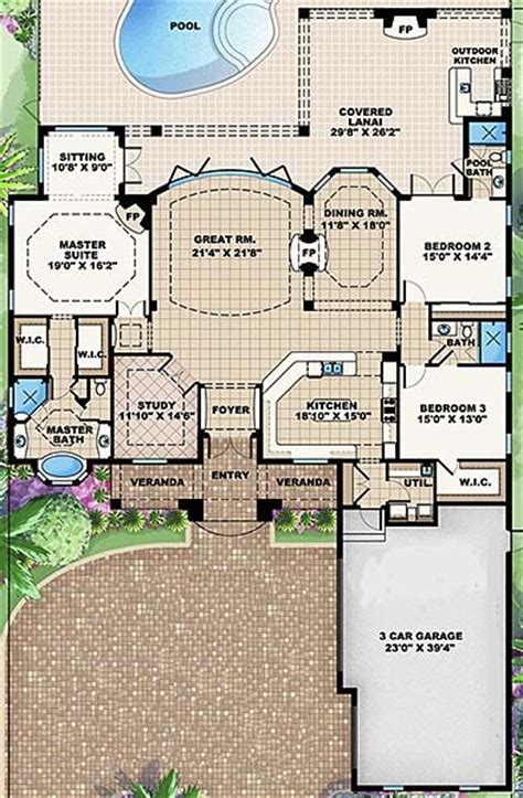 single story plan this is my dream floor plan but the first floor plan i opened i always come back to the same