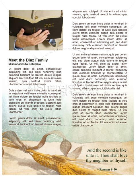 do chuch newsletter template newsletter templates