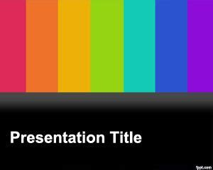 tv show powerpoint templates tv powerpoint template