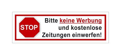 Bitte Keine Werbung Aufkleber Vorlage by Buchung Schnelles Telekom Hilft Community