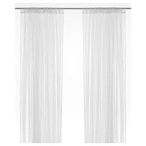 Ikea Lill Curtains Decor Lill Lace Curtains 1 Pair White Net Curtains Window And Ikea Bedroom