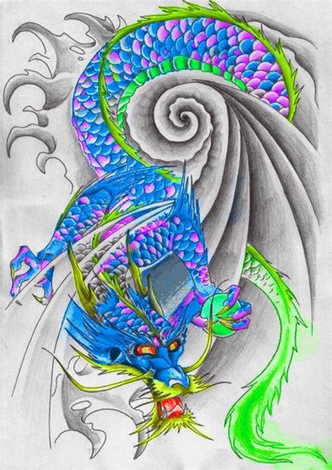 tattoo flash dragon dragon tattoo flash by meekas1 on deviantart