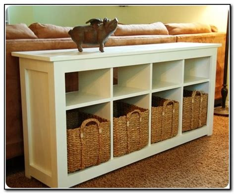 sofa table with storage baskets sofa table with storage bins beds home design ideas