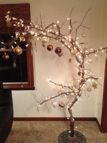 decorar ramas secas para navidad de arbol como crear un arbol de navidad de ramas secas