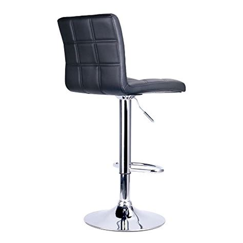 Leo Adjustable Swivel Stool by Modern Square Pu Leather Adjustable Bar Stools With Back