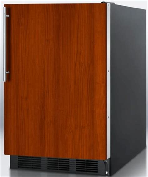 refrigerators that take cabinet panels summit ff6bbiif built in undercounter all refrigerator