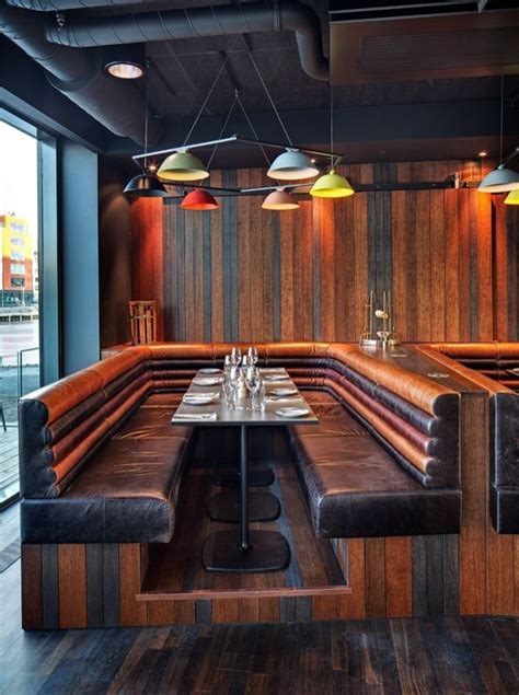 wooden restaurant benches best 25 restaurant booth ideas on pinterest restaurant