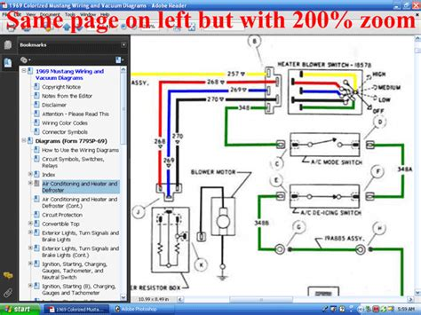 1969 mustang wiring diagram 1969 mustang ignition switch wiring diagram circuit and