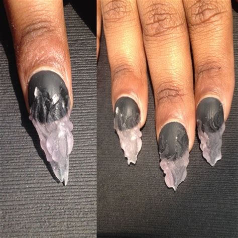 how to do matte gel nails ntna week 5 entity nail gallery step by step