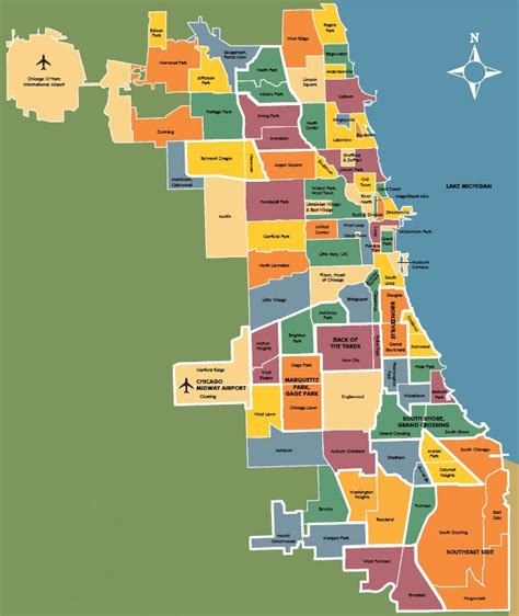 chicago map areas chicago area map suburbs swimnova