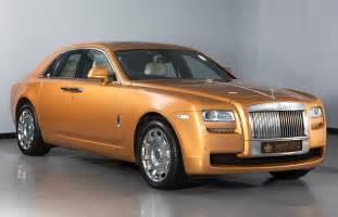 Gold Rolls Royce Ghost Rolls Royce Ghost Gold
