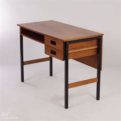 Small Teak Desk Vintage Small Vintage Teak Desk In The Style Of Pastoe 1960s Ztijl