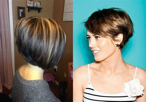 haircuts of bobs business style stacked bob hairstyles 2017 hairdrome com