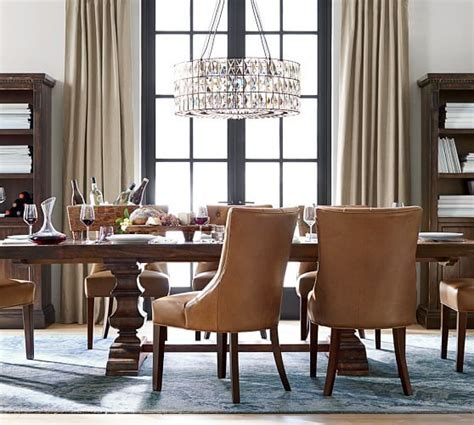 living dining sofa chair muji adeline chandelier chandeliers barn and lights
