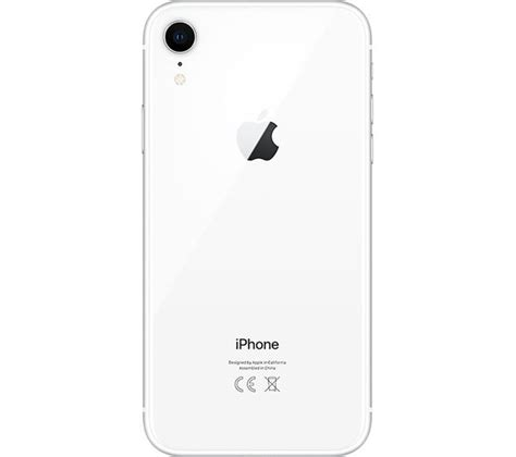 buy apple iphone xr 128 gb white free delivery currys