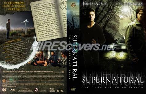 Dvd Supernatural Season 3 dvd cover custom dvd covers bluray label dvd custom covers s supernatural season 3