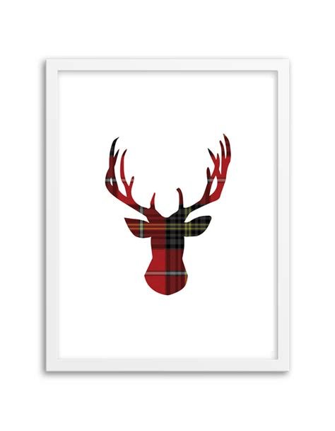 how to design printable wall art wall art designs deer wall art free printable tartan deer