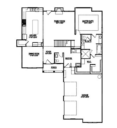floor master suite floor plans new custom design