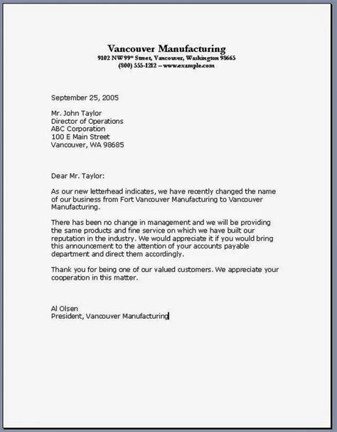 Business Letter Format Re Yantosk Definition Types And Exle Of Business Letter