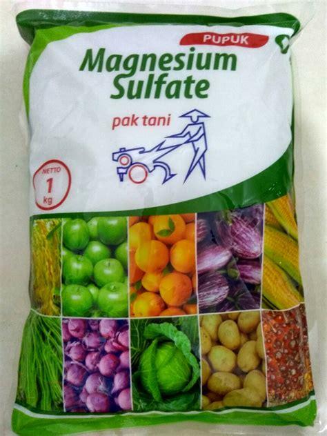 Pupuk Magnesium Sulfat Pak Tani jual pupuk magnesium sulfate mgso4 epsom salt garam