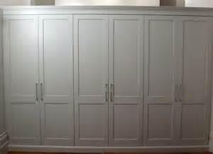 shaker style wardrobe doors carpentry