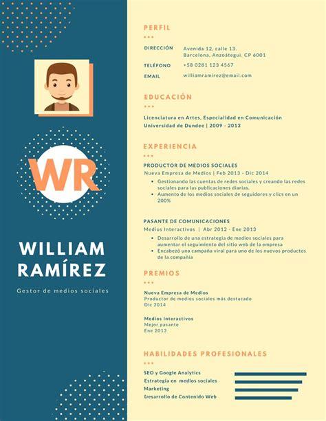 Modelo Curriculum Vitae Word Experiencia m 225 s de 25 ideas incre 237 bles sobre modelo cv en