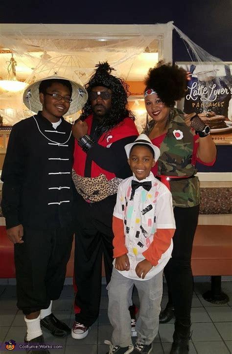 dragon family costume