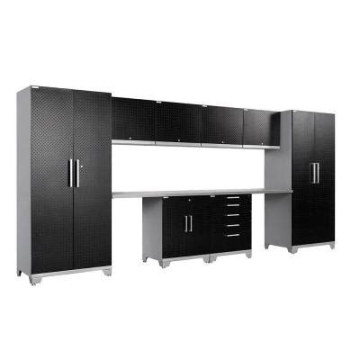 Plate Garage Cabinets by Newage Products Performance Plus Plate 83 In H X