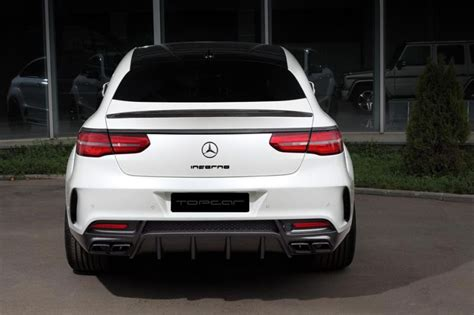 Auto Tieferlegen Photoshop App by Topcar Gle Coupe Inferno Carbon 63amg Mercedes Tuning