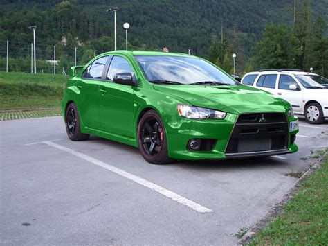 green mitsubishi lancer custom mitsubishi lancer evo x 2017 2018 best cars reviews
