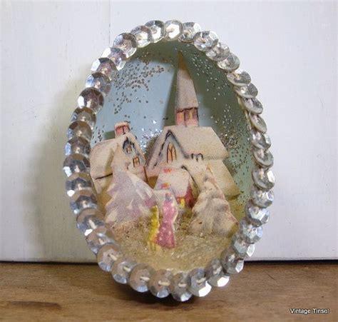 vintage egg shell diorama ornaments 15 best images about egg diorama ornaments on eggshell snow and vintage