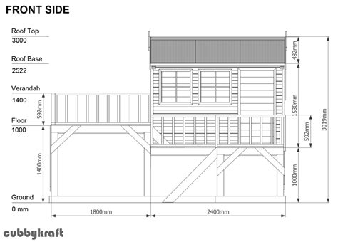 simple cubby house plans simple cubby house plans make their cubby house part of your garden area cubbykraft