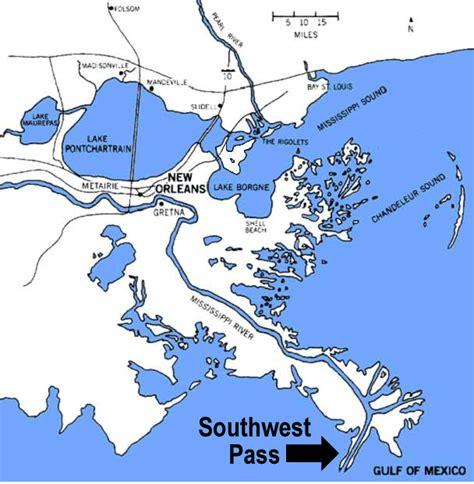 louisiana delta map understanding