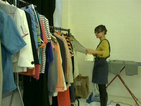 Wardrobe Stylist Assistant by Fashion Assistant Rebekah Roy Fashion Stylist