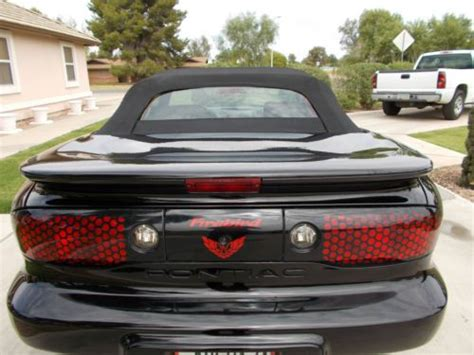 what was the last year for pontiac find used x3 black pontiac convertible firebird 2002 75k