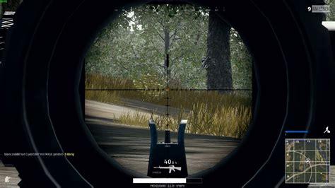 pubg 8x scope markings playerunknown s battlegrounds 8x scope youtube