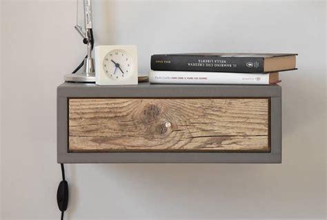 comodino piccolo comodino piccolo a muro con 1 cassetto in legno antico