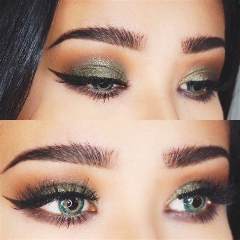 Eyeshadow Green shevicious makeup hair nail aliens eyeshadow looks and hazel