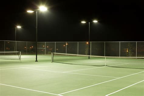 tennis courts with lights tips for optimal led tennis lighting industrial led