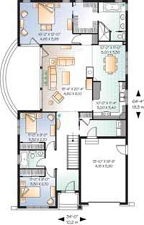 Floor Plan For A 940 Sq Ft Ranch Style Home granny flat on pinterest house plans square feet and
