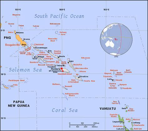 solomon islands map solomon islands map location newhairstylesformen2014