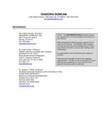resume reference page exles travel phlebotomist