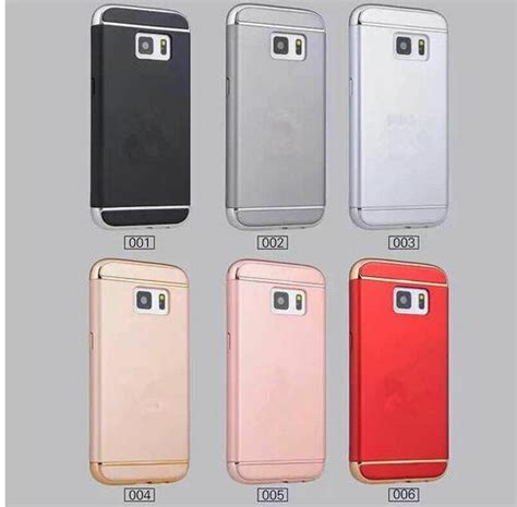 Iphone 6 6plus 6s Plus Motomo Metal Cover Hardcase Bumper Casing 1 removable 3 in 1 electroplating plastic 360